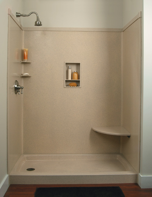 Tub and Shower Wall - USA Cultured Marble